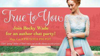 True to You Author Chat party
