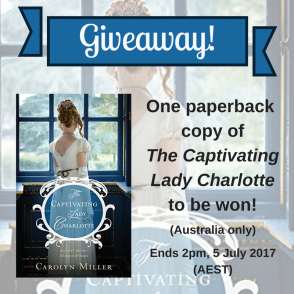 Lady Charlotte giveaway