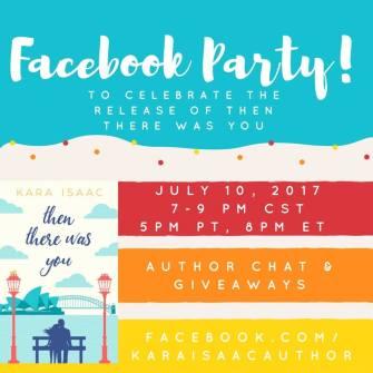 Kara Isaac Facebook party