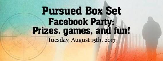 Pursued boxed set Facebook