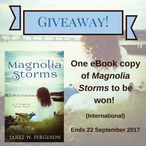 Magnolia Storms Giveaway
