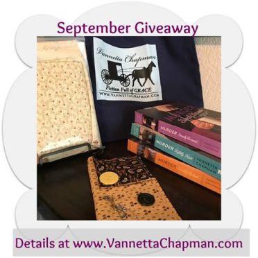 Vannetta Chapman giveaway