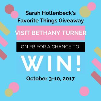 Bethany Turner giveaway