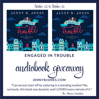 Engaged in Trouble giveaway