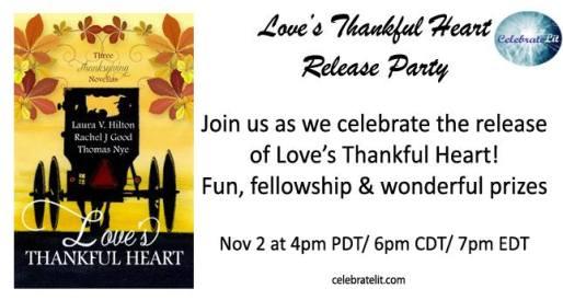 Love's Thankful Heart release