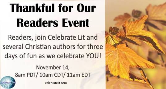 Thankful for our Readers