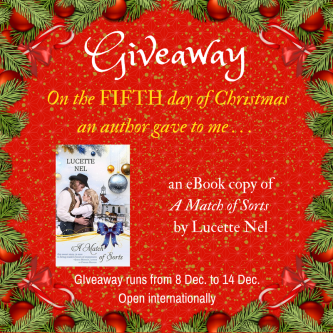 Christmas Giveaway Lucy Nel
