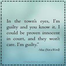 In the towns eyes
