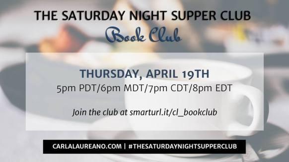 Saturday Night Supper Club book club