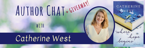 Author Chat banner Cathy West