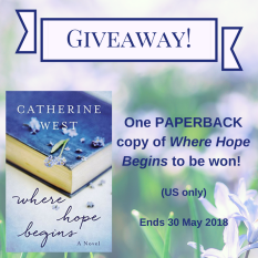 Giveaway Cathy West