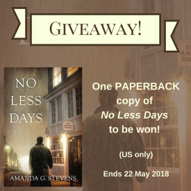 No Less Days Giveaway