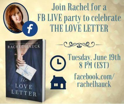 Rachel Hauck Facebook Party