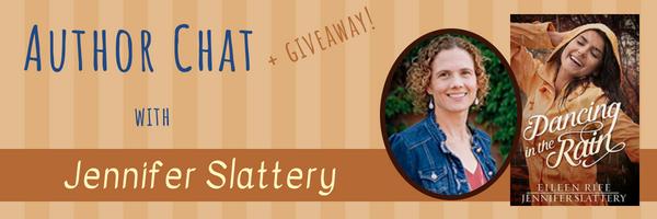 Author Chat banner Jennifer Slattery