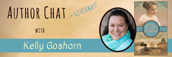 Author Chat banner Kelly Goshorn