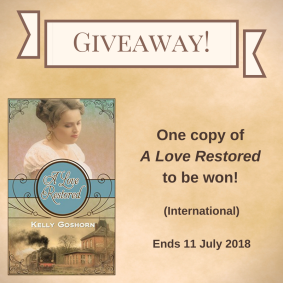Giveaway Kelly Goshorn