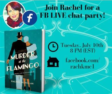 Rachel McMillan facebook party