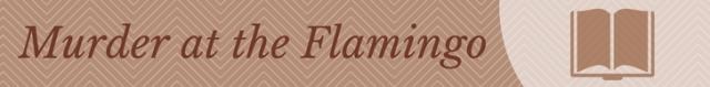 Meet the Writer mini banner Flamingo