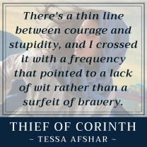 Thin line between courage II